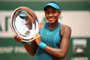 14-летняя теннисистка выполнила 3-ю самую сильную подачу на Уимблдоне