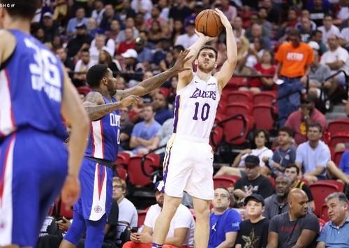 Святослав Михайлюк поразил точностью в Летней лиге НБА