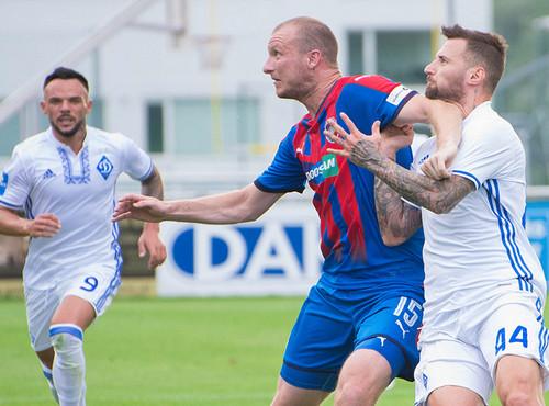Динамо переиграло Викторию Плзень в контрольном матче