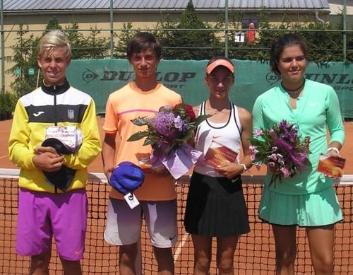 Украинец Вячеслав Белинский выиграл юниорский турнир в Словакии