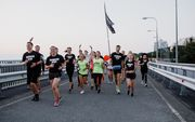 Nike Sunrise Run собрал 600 бегунов для встречи рассвета