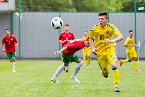 Франция U19 - Украина U19. Видео гола Цитаишвили