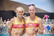 Украинки Давидова и Щипковая вышли в плей-офф чемпионата Европы-2018