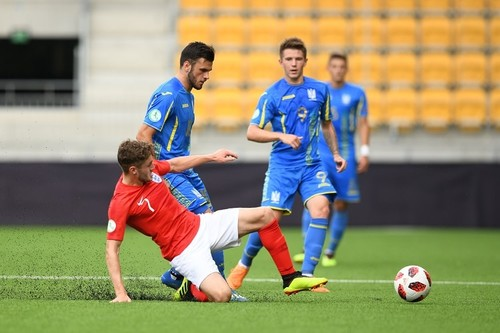 Украина U-19 – Англия U-19 – 1:1. Видео голов и обзор матча