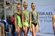 Наши гимнастки победили на Международном турнире юниоров в Эйлате
