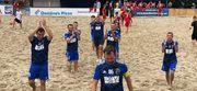 Чемпионат Киева по пляжному футболу. Определились полуфиналисты