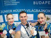 Украина заняла 2-е место в медальном зачете ЧМ по синхронному плаванию
