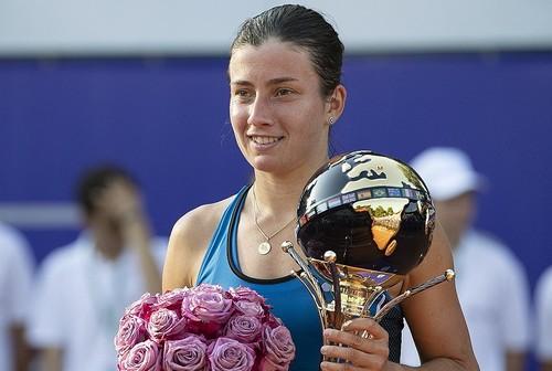 Бухарест. Севастова выиграла третий турнир в карьере