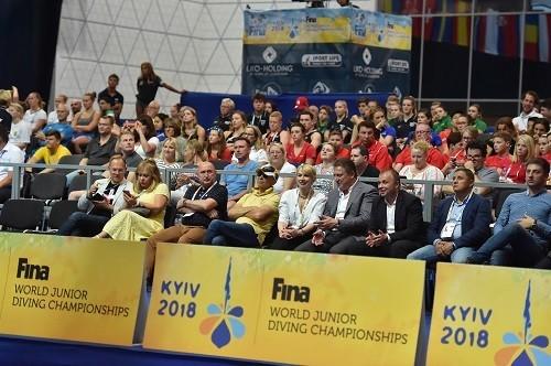 ЧМ U-18 по прыжкам в воду в Киеве. Смотреть онлайн. LIVE трансляция