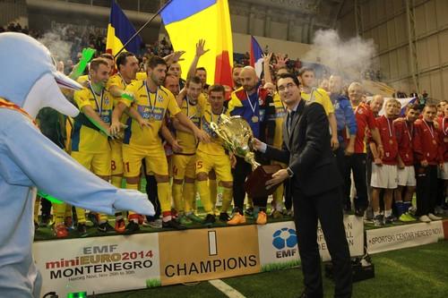 Збірна Румунії. Група B чемпіонату EURO-2018 з міні-футболу
