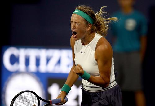 АЗАРЕНКО: «Не сыграла в свой лучший теннис против Бондаренко»