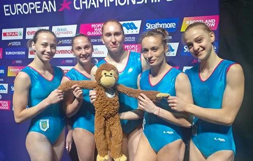 Украинская женская сборная квалифицировалась в командный финал на ЧЕ