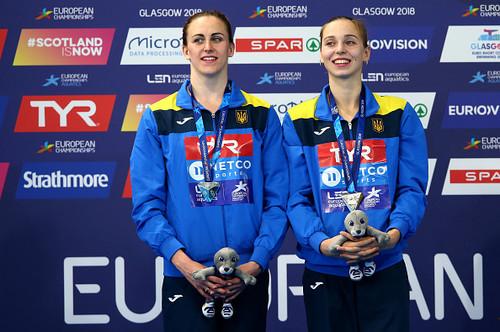 Савчук и Яхно завоевали еще одну медаль на чемпионате Европы