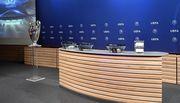 Жеребьевка раунда плей-офф Лиги чемпионов. LIVE с 13:00