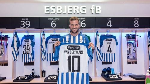 Ван дер Варт продолжит карьеру в Эсбьерге