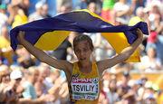 Украинка Цвилий завоевала серебро чемпионата Европы в ходьбе на 50 км