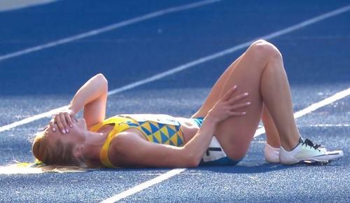 Кристина СТУЙ: «У меня спазмировало мышцу бедра»