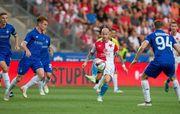 Динамо не смогло удержать победу над Славией