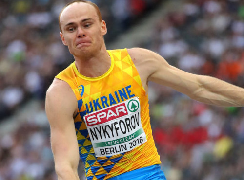 Никифоров выиграл бронзу в прыжках в длину на чемпионате Европы