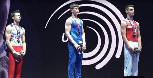 Ковтун стал золотым призером чемпионата Европы