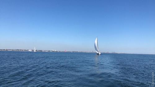 Одесские яхтсмены победили в Румынии