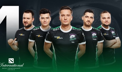 The International. Virtus.pro и Team Secret сыграли вничью