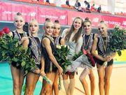 Результаты чемпионата Украины в групповых упражнениях