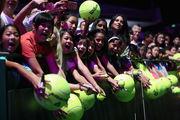 Итоговый турнир WTA. Полуфинал. Три Каролины и Винус