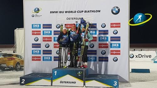 Эстерсунд-2017. Юлия Джима завоевала бронзу в первом спринте сезона