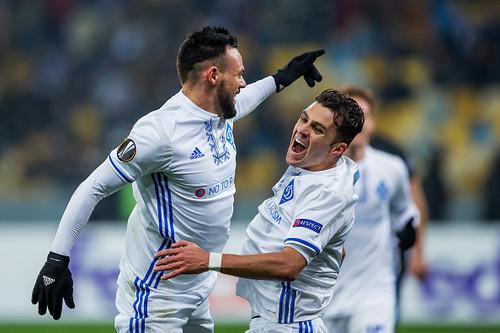 Мораес оформил первый хет-трик Динамо в еврокубках за 19 лет