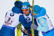 Сборная Украины выигрывает серебро в эстафете на этапе Кубка мира