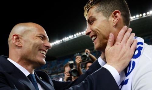 ЗИДАН: Роналду намного лучше меня. Он – лучший игрок в истории футбола