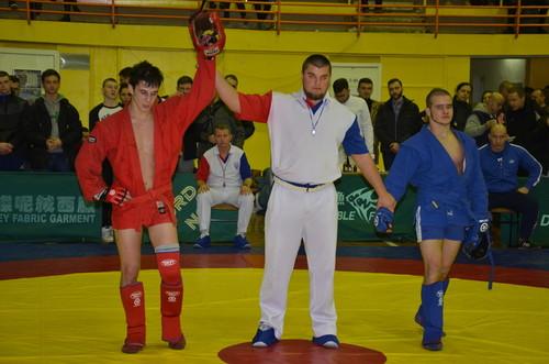 Столица выиграла чемпионат Украины по самбо