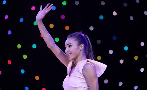 Виктория Мазур выступила на гала-шоу, посвященному испанской гимнастке