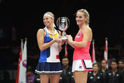Главацкова и Бабош выиграли Итоговый турнир в парном разряде