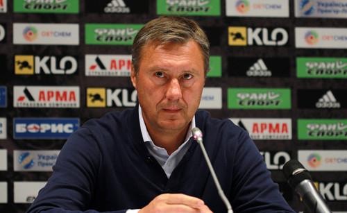 Александр ХАЦКЕВИЧ: «Примитивный футбол, еще и на таком поле»