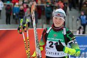 Чемпионат Украины. Блашко выиграла гонку преследования