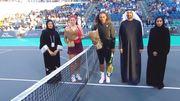 Остапенко обыграла Серену Уильямс в выставочном матче