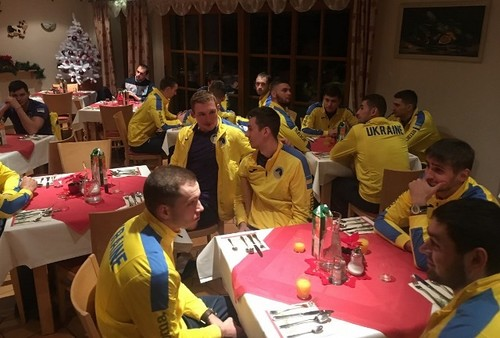 Збірна України розпочала останній етап підготовки до кваліфікації ЧС