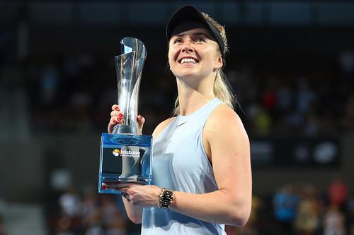 Свитолина стала 4-й ракеткой мира и лидирует в чемпионской гонке WTA