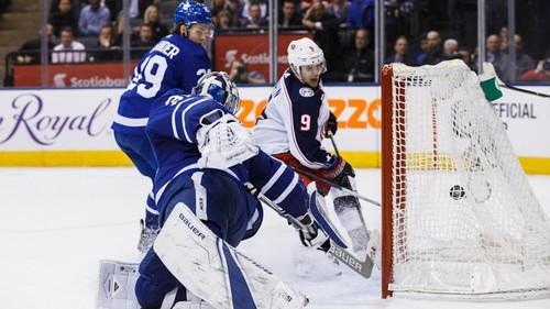 НХЛ. Торонто уступил Коламбусу в овертайме. Матч понедельника