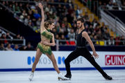 Пападакис и Сизерон выиграли короткий танец на чемпионате Европы