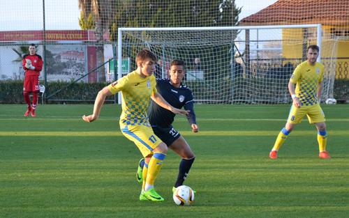 Сталь сыграла вничью с румынским Ювентусом на сборе в Турции