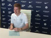 Де Брюйне остается в Манчестер Сити до лета 2023 года