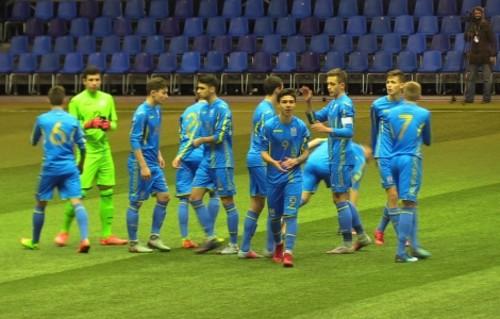 Збірна України U-17 розгромила Молдову U-17 на турнірі в Мінску