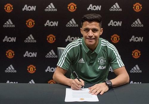 Санчес будет получать в Манчестер Юнайтед 500 тыс фунтов в неделю