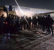 Сборная Казахстана по футзалу прибыла в Киев