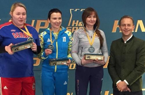 Олена Костевич перемогла на турнірі в Німеччині