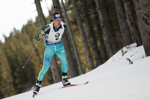ЧЕ-2018 по биатлону. Пидручный занял 8-е место в персьюте