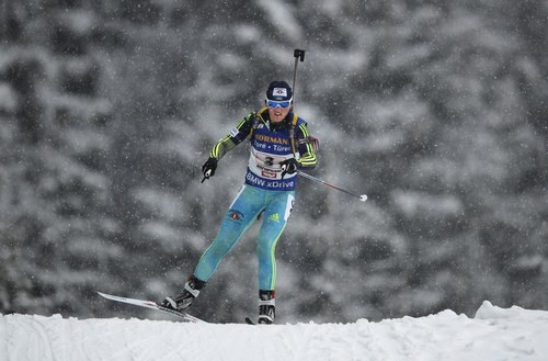 ЧЕ-2018 по биатлону. Ирина Варвинец стала второй в гонке преследования